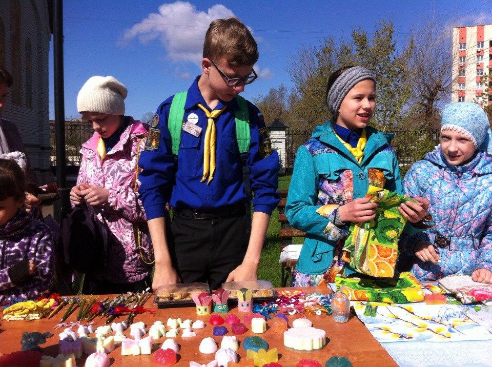 Пасхальная благотворительная ярмарка в Оренбурге