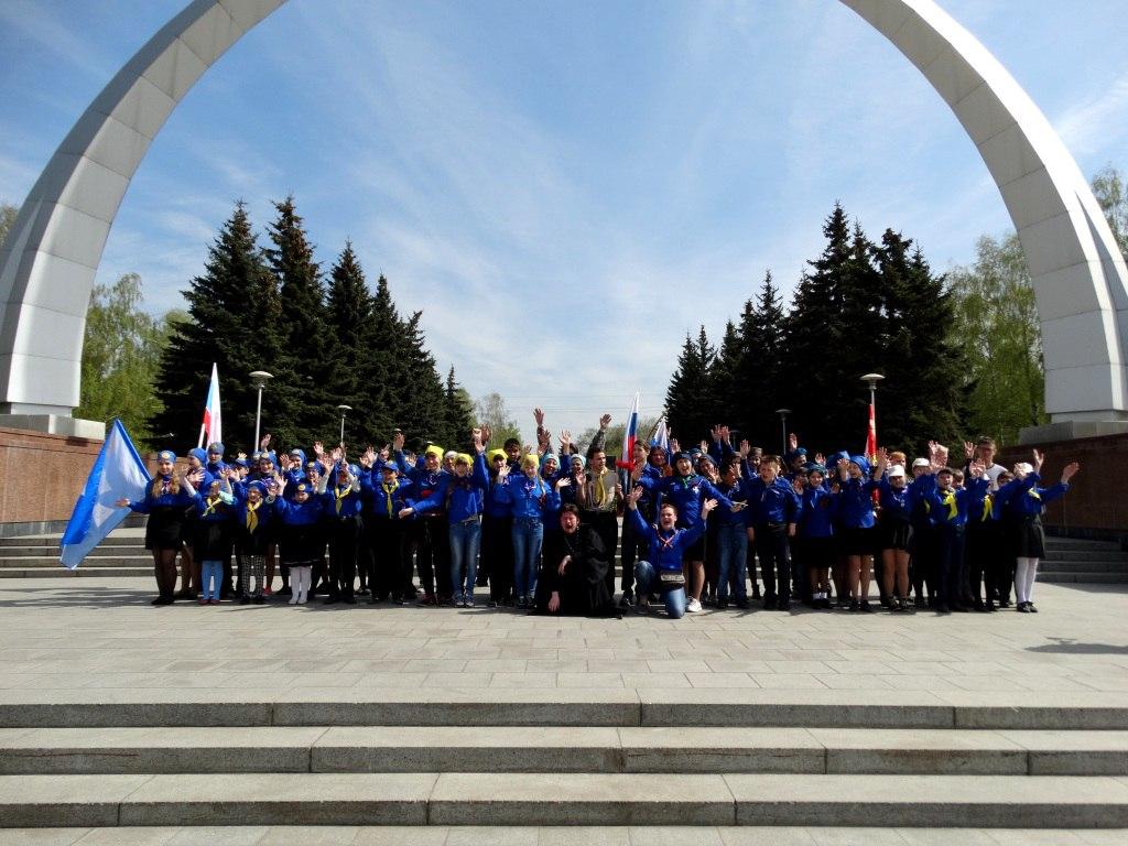 В Новокузнецке состоялся первый Георгиевский Парад Новокузнецкой епархии