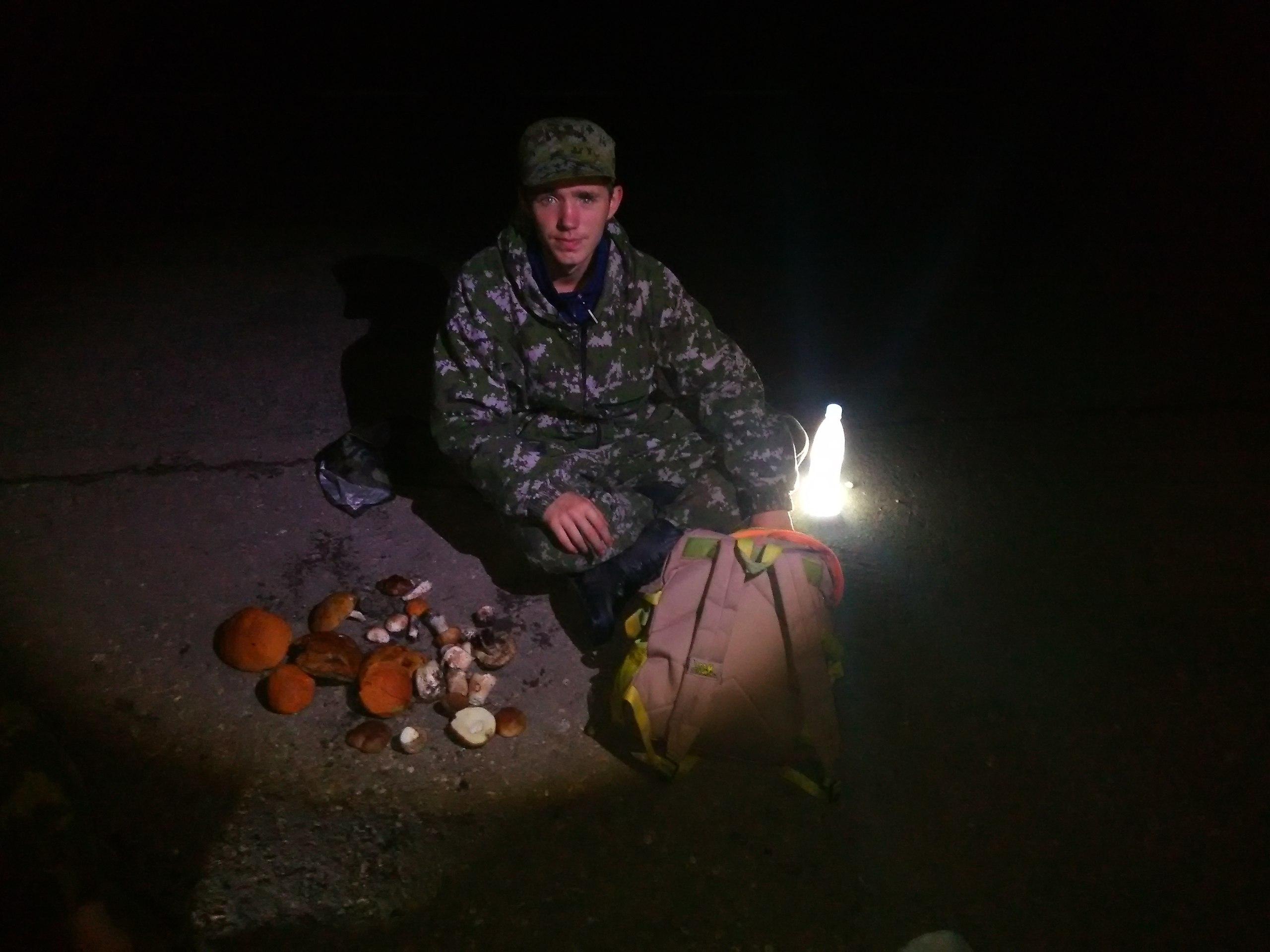 Следопыты Волоколамского отряда БПС совершили ночной поход в лес