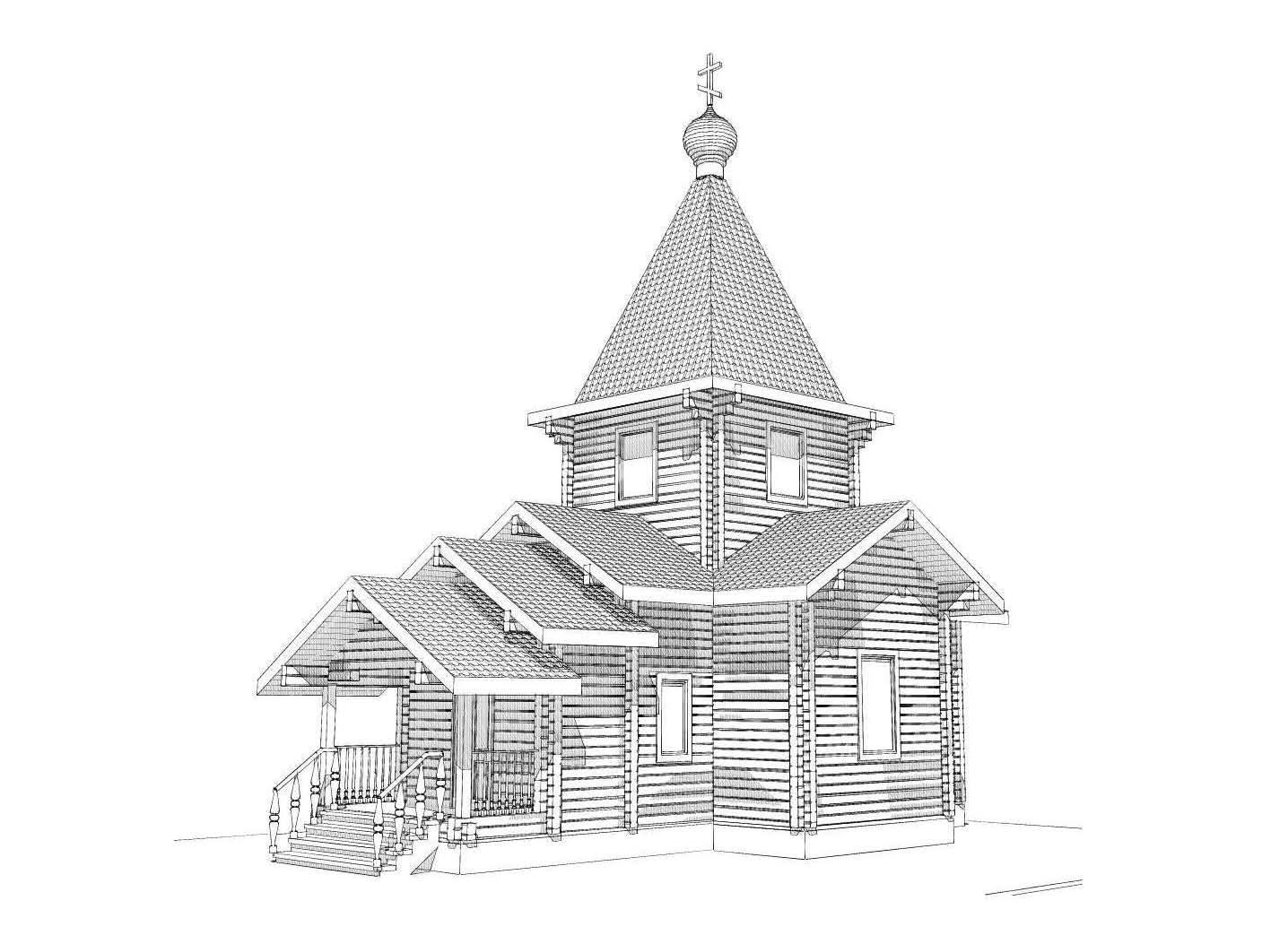 В Кемерово началось строительство храма
