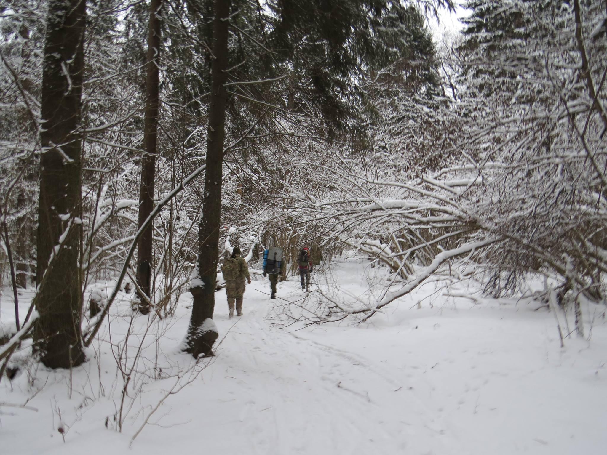 Следопыты Московского отделения БПС совершили поход к местам боевой славы