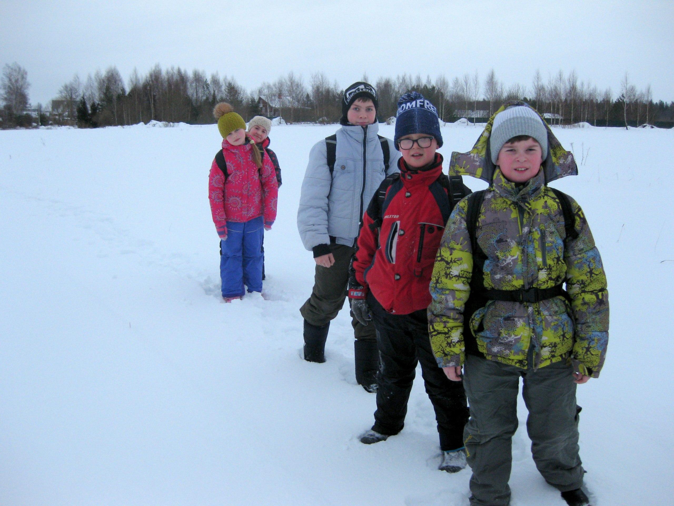 Следопыты Волоколамского отряда БПС совершили традиционный новогодний зимний выход