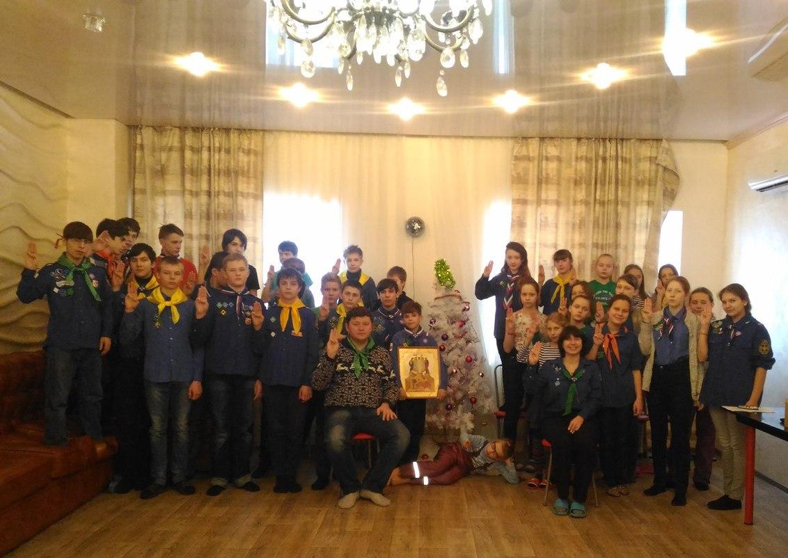 В Уфе прошли Рождественские сборы отряда