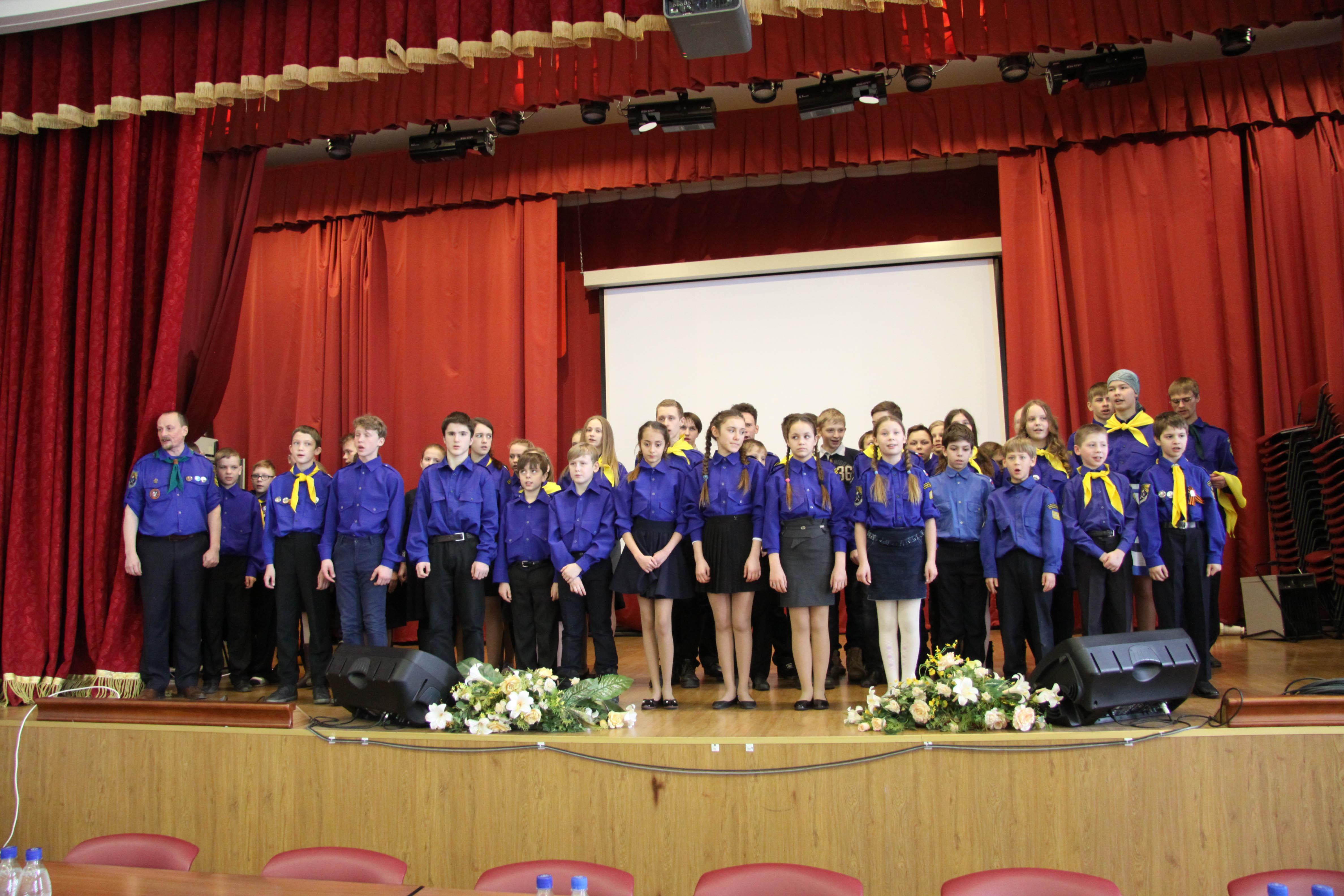 Екатеринбургское отделение БПС провело Первый региональный скаутский концерт «Я - Православный Следопыт!»