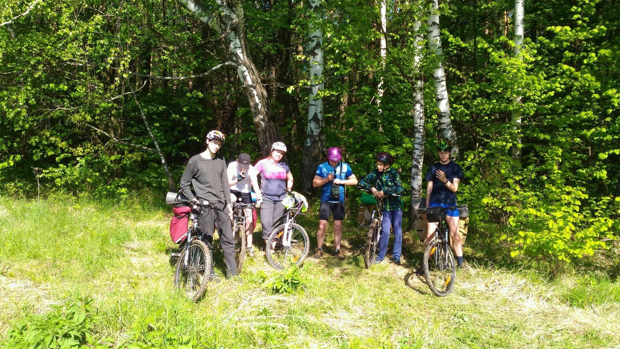 Следопыты Московского отделения БПС совершили велопоход в Тульскую область