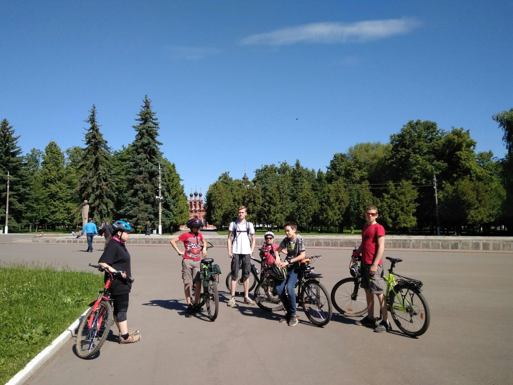 Велопоход по Подмосковью