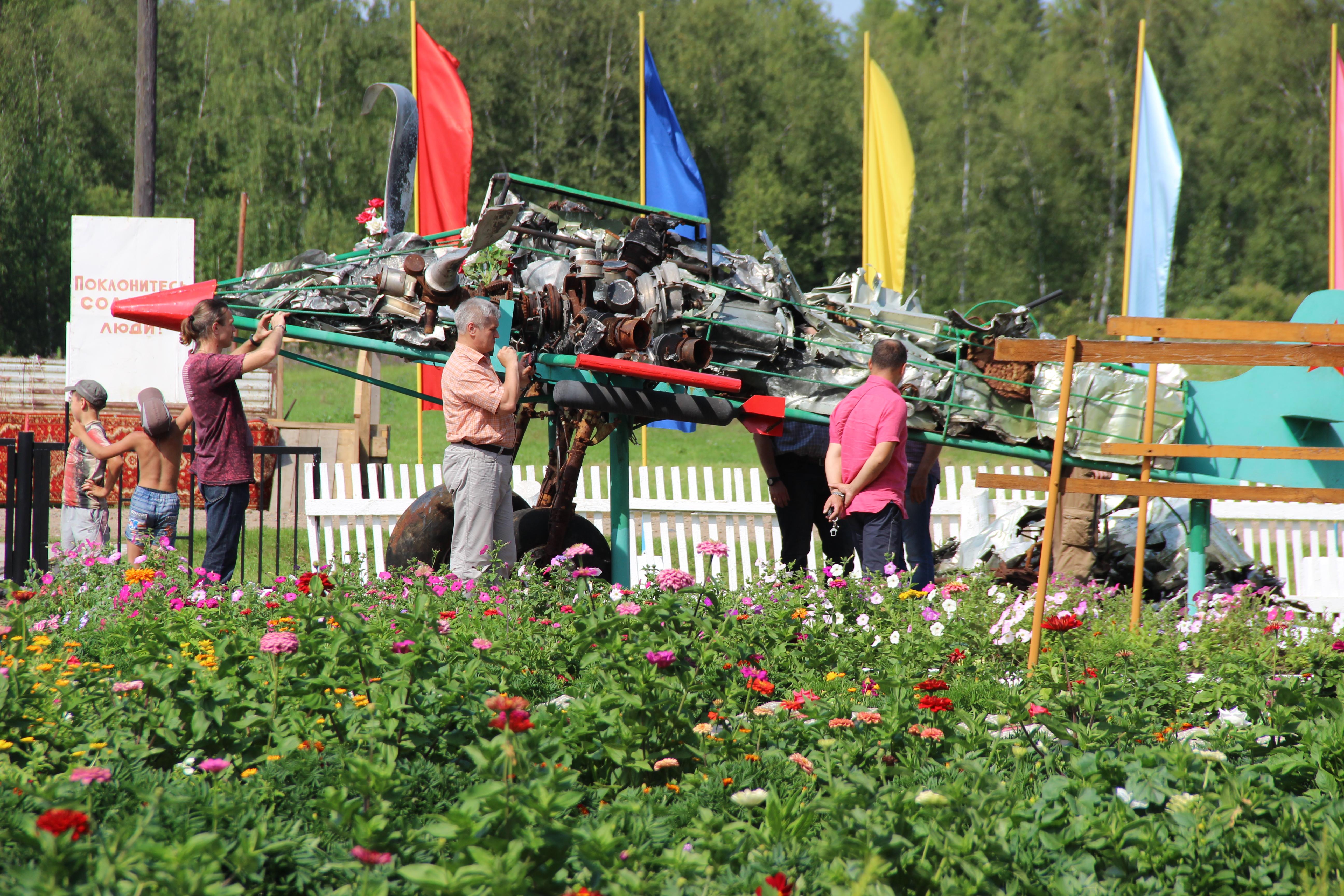 Красноярские следопыты приняли участие в экспедиции к месту гибели летчиков в годы Великой Отечественной войны