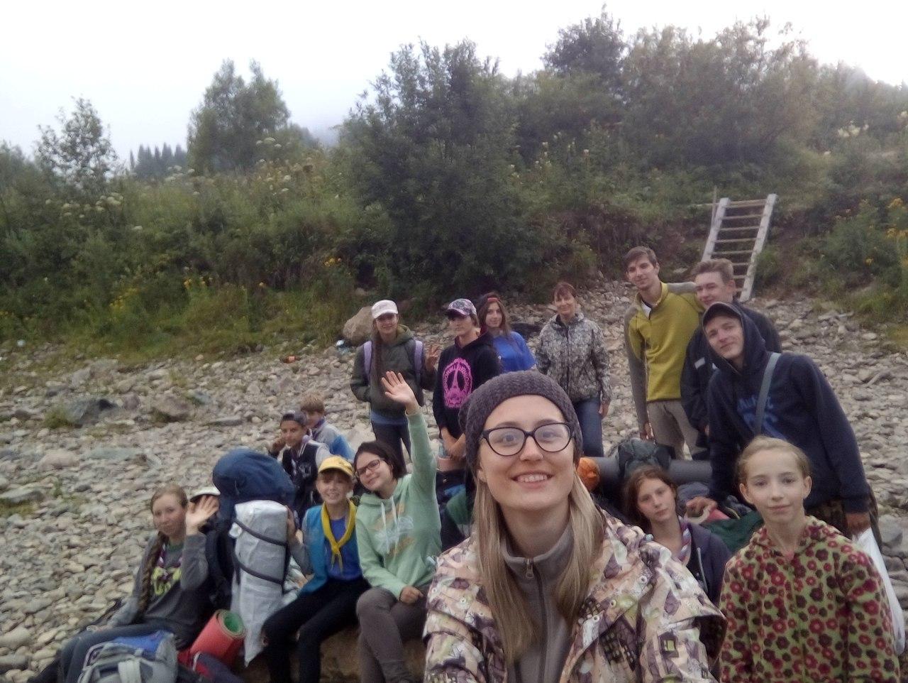 Лагерь кемеровских следопытов в горах Кузнецкого Алатау