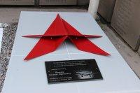 В Красноярске состоялось открытие и освящение памятника красноярскому летчику