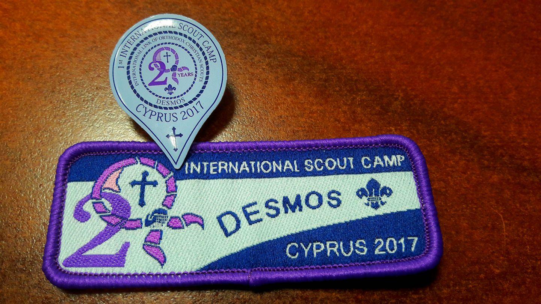 Православные следопыты в Первом интернациональном лагере DESMOS на Кипре