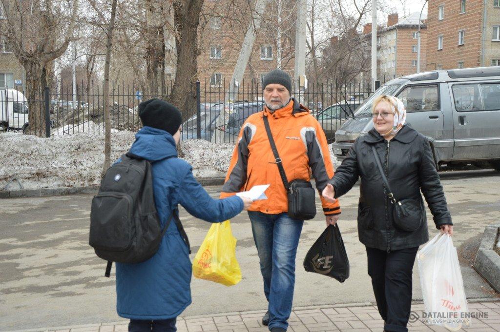 """Новосибирские следопыты провели акцию """"Евангелие в каждый дом"""""""