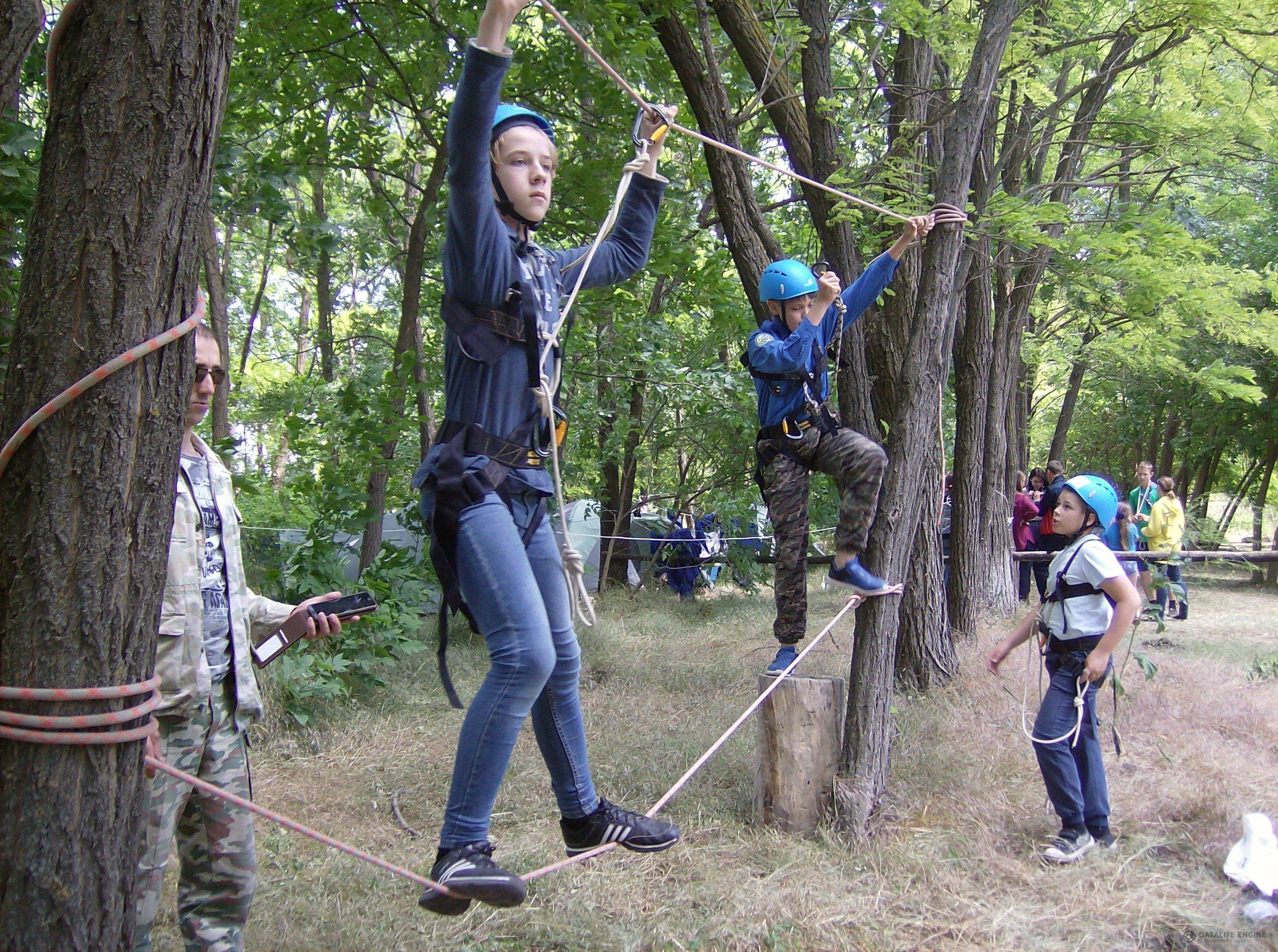 В Кореновском районе Краснодарского края состоялся следопытский лагерь «Тропа индейца»