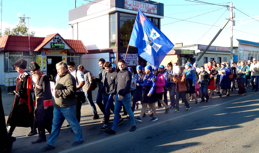 Следопыты Тихорецкой епархии приняли участие в торжествах, посвященных памяти Новомучеников Кубанских