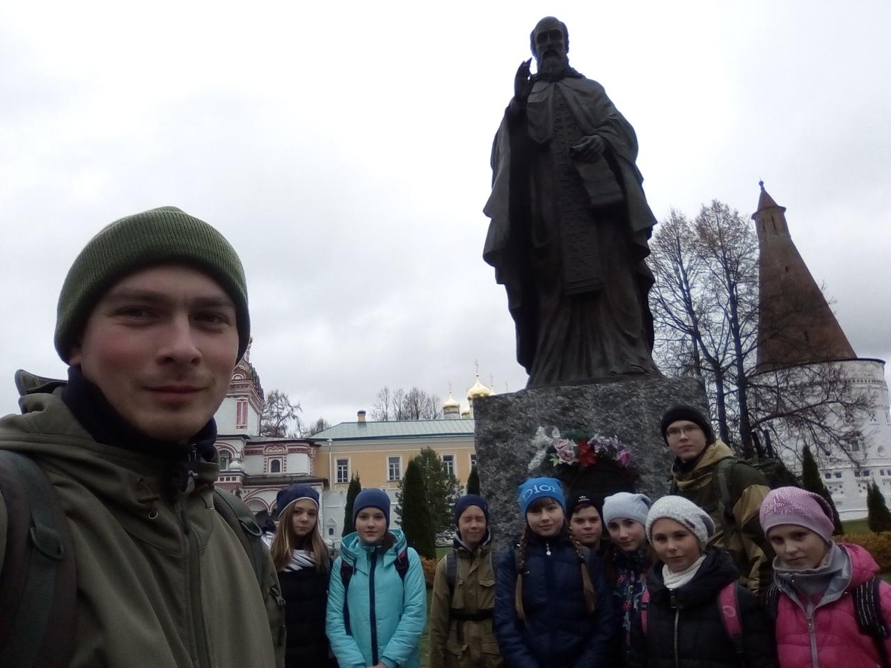 Следопыты Волоколамского отделения БПС провели-поход-экспедицию