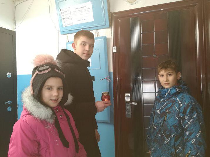 Рождество пришло в гости к пожилым прихожанам в г.Орск Оренбургской области