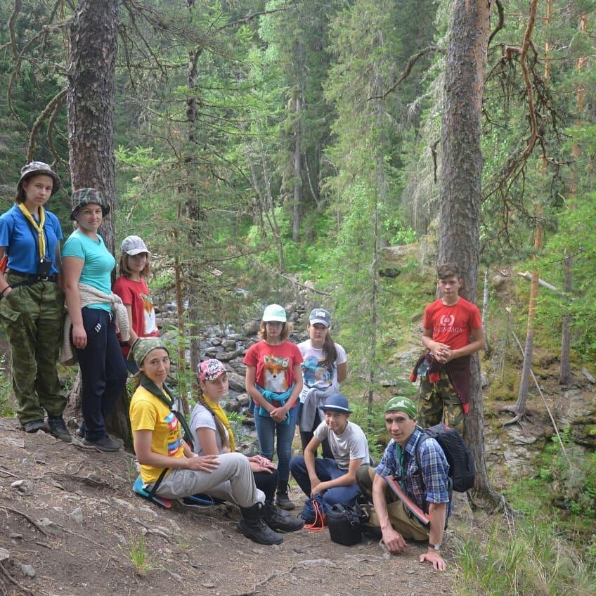 Следопыты Волоколамского и Оренбургского отрядов БПС совершили поход 3 ст.сложности в горы Южного Урала