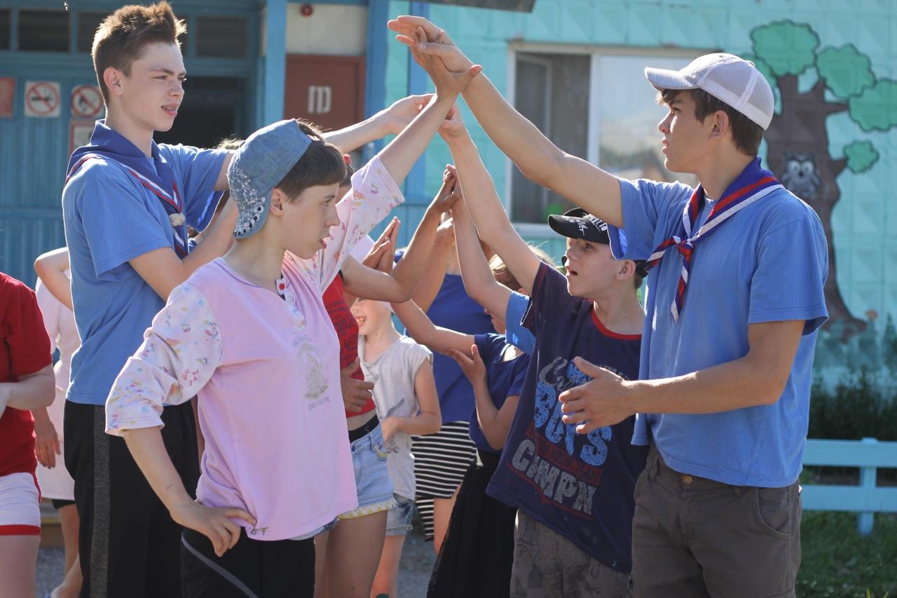 Следопыты Колпашевского отряда Томского отделения БПС провели волонтерский лагерь для особенных детей