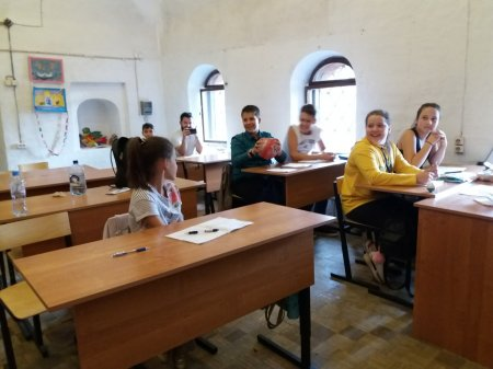 Дети из России в Школе Дружбы - 3 день