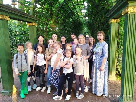Дети из России в Школе Дружбы - 4 день