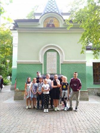 Дети из России в Школе Дружбы - 5 день