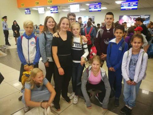 Ребята отправляются в Сербию